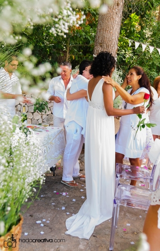 Costa Blanca Outdoor Wedding