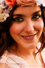 Spring Portrait Young Woman Denia
