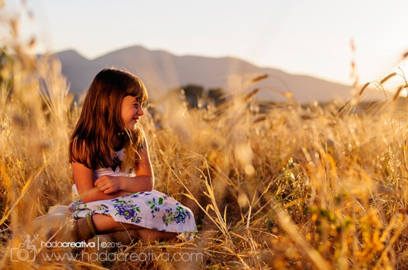 Creative children's photography Moraira