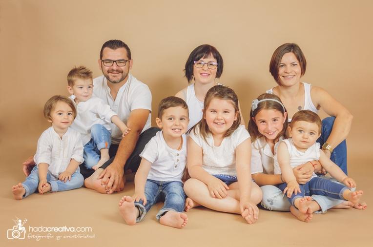 Reportaje Fotografico en Familia Denia