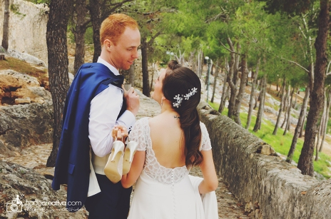 Pre Wedding Session Denia Castle