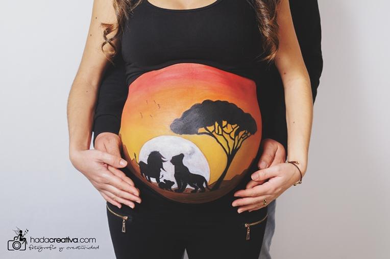 Mini Photo Session Belly Painting Maternity Denia Javea Moraira